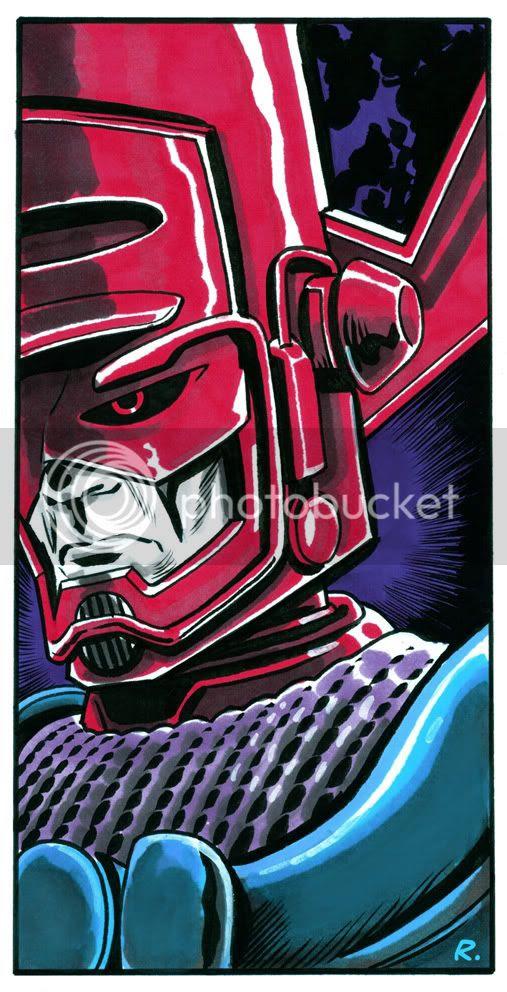 Graeme Neil Reid,Illustration,Galactus,Marvel Comics