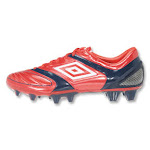 Umbro Stealth Pro A HG Soccer Shoes (Red) 11 By SoccerEvolution