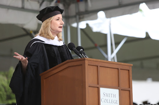 Arianna Huffington's Commencement Speech On 'Redefining Success: The Third Metric'
