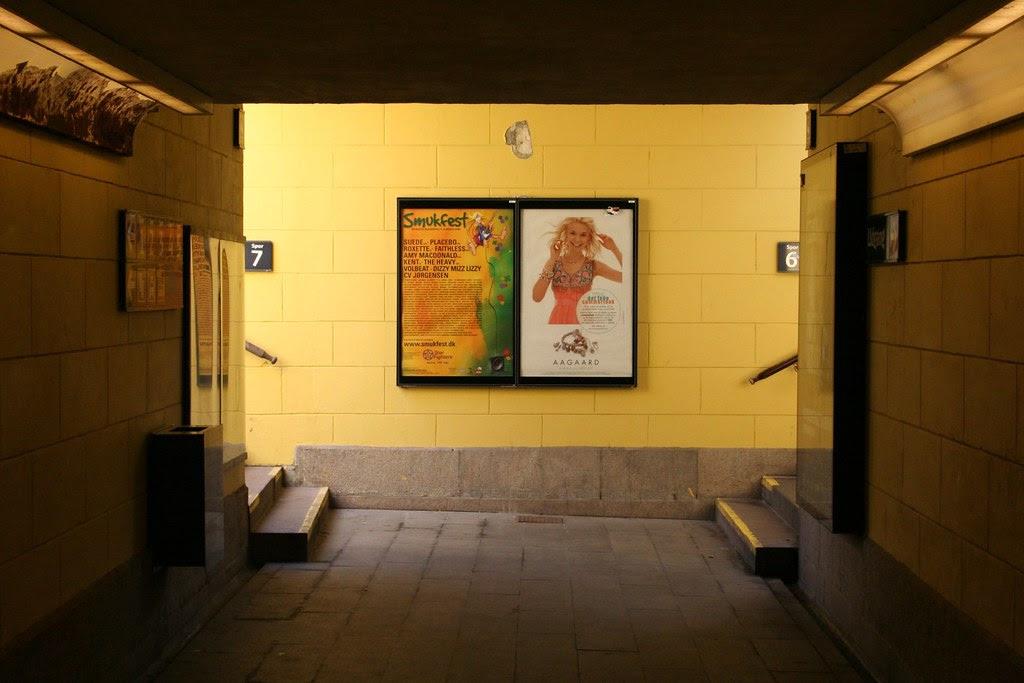 Under Roskilde Rail Station