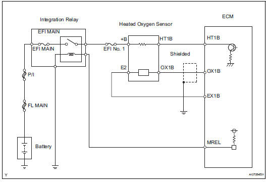 Toyota Rav4 Service Manual Oxygen Sensor Circuit Diagnostic Trouble Code Chart Sfi System 2az Fe Engine Mechanical