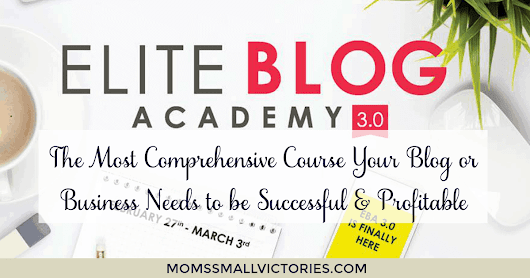 Elite Blog Academy 3.0 - The Most Comprehensive Course Your Blog or Business Needs to be Successful + Profitable