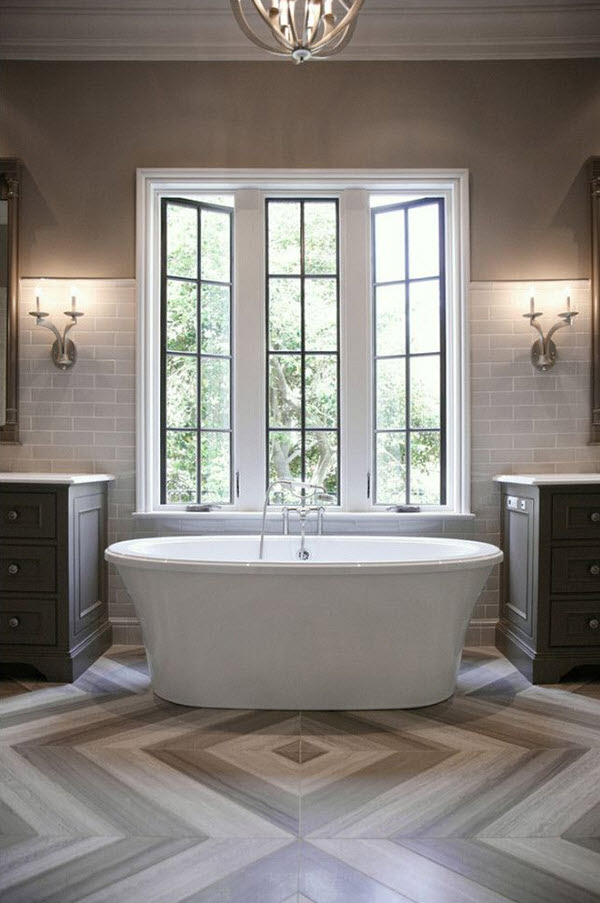 37 light gray bathroom floor tile ideas and pictures