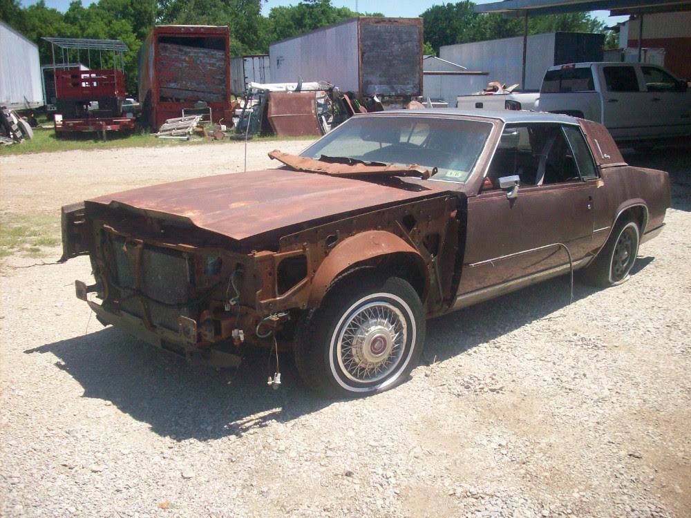 1985 Cadillac Eldorado Biarritz Parts Car 1