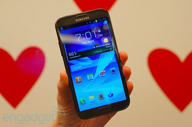 Samsung Galaxy Note II for TMobile handson