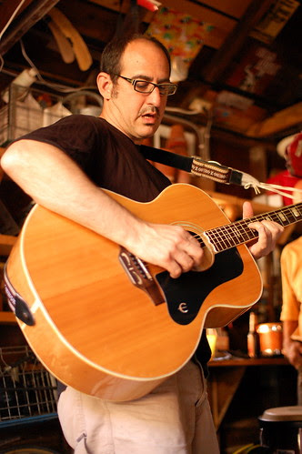 Jonathan Z. on Guitar