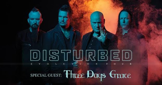 Register to win tickets to Disturbed on January 5th at the Alamodome Arena!