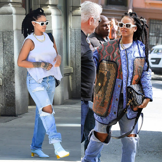 Rihanna Wears Jurgi For Dust in NYC - Haus of Rihanna