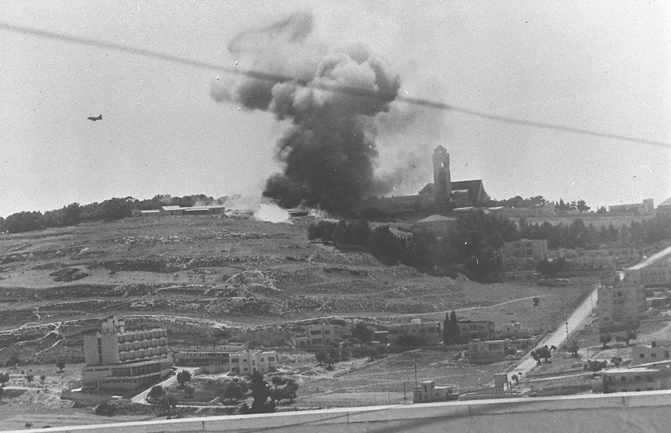 دخول القدس فى اليوم الاول من الحرب