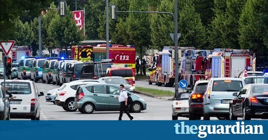 Munich shooting: gunman researched school killing sprees before rampage – as it happened | World news | The Guardian
