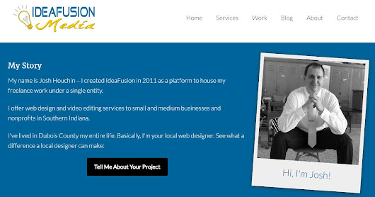 Southern Indiana Website Design | Contact IdeaFusion Media