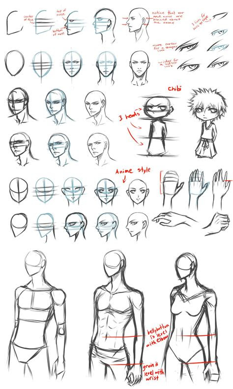 basic drawing tips  destatidreamxiiideviantartcom
