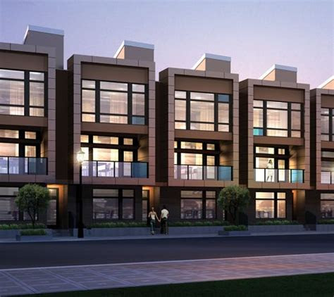 pin  contemporary townhomes