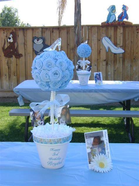 Cinderella Centerpieces @Karen Darling Space & Stuff Blog