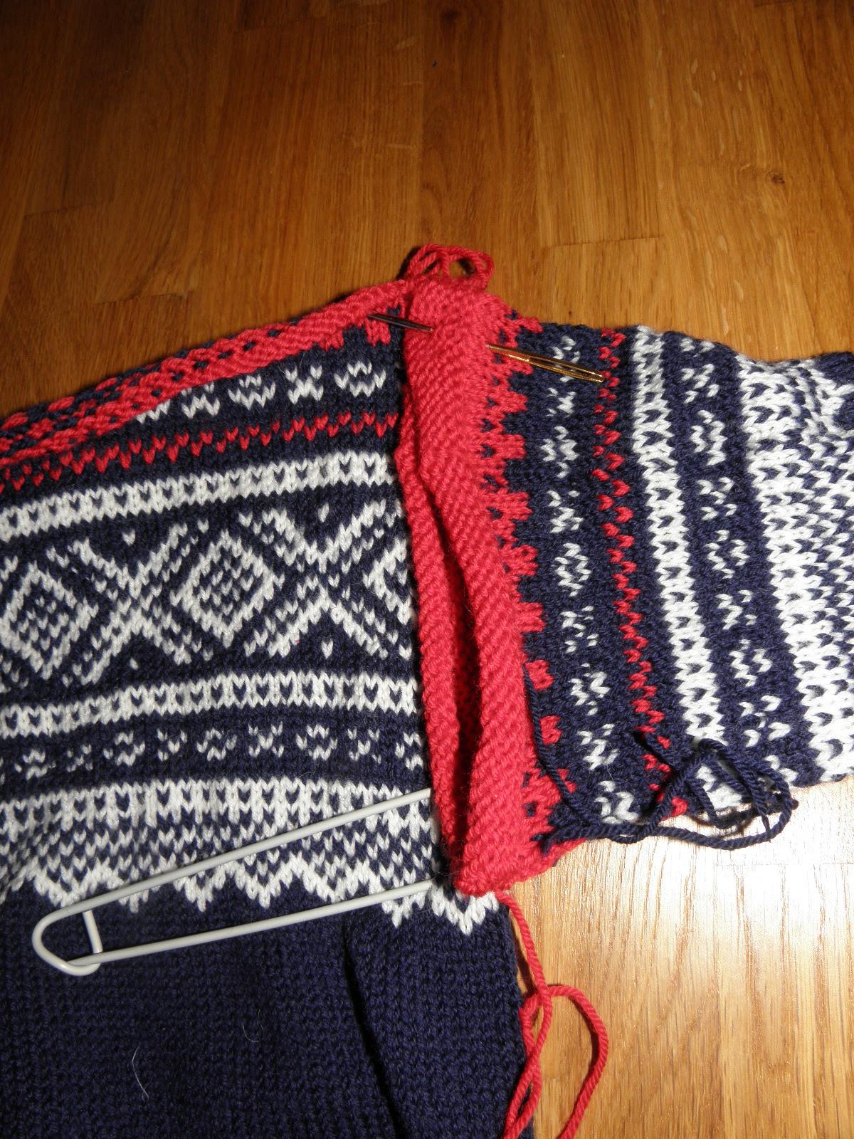 Slik monterer du en strikkegenser