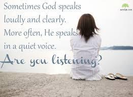 listen to God