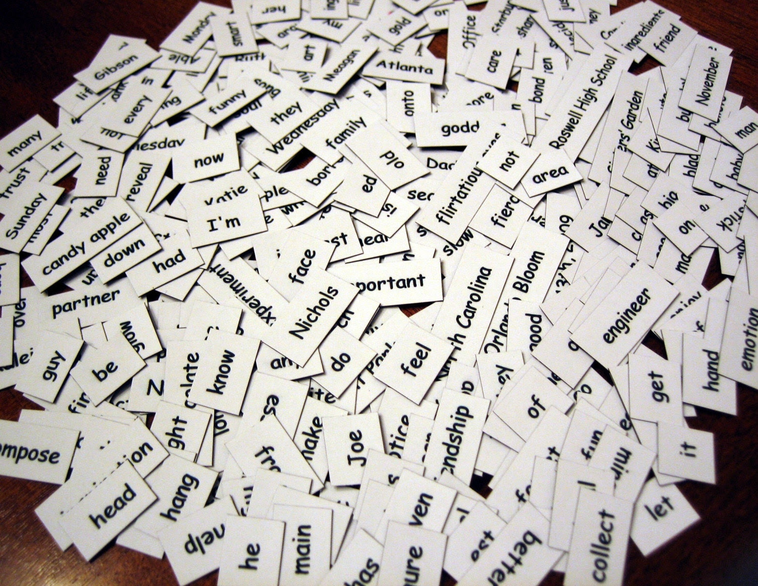 Customized Magnetic Poetry Kits
