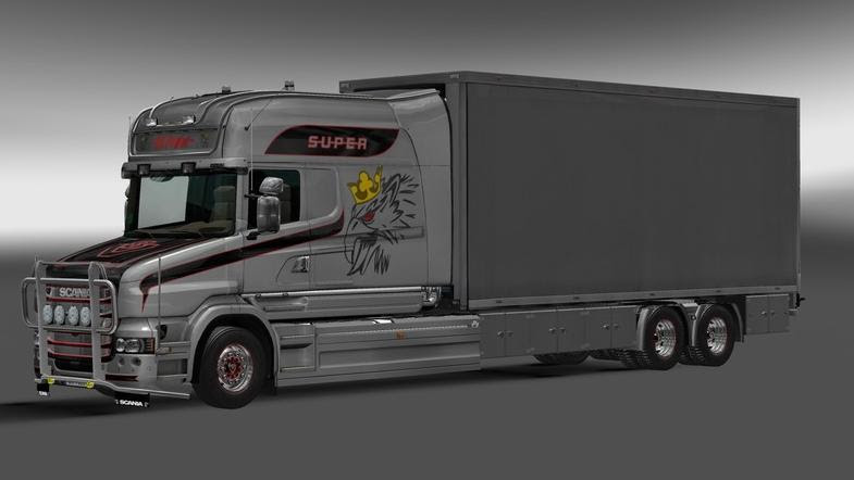 Scania Longline T Tandem V0 6 Mod Euro Truck Simulator 2 Mods