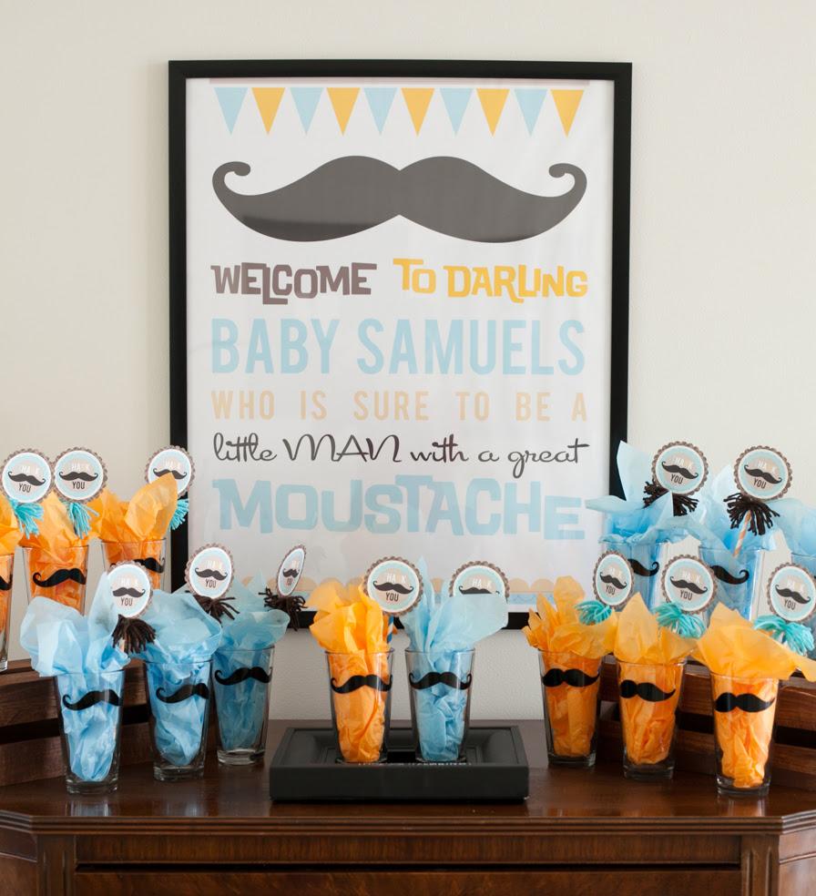 Mustache Ideas http://projectnursery.com/2013/06/mustache-baby-shower ...