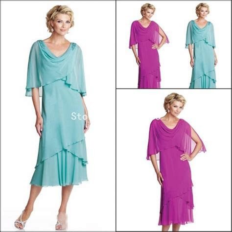 Summer Plus Size Dresses Mother Bride Beach Wedding Party