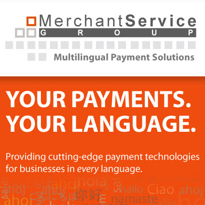 Merchant Service Group LLC  Providing Cutting-edge Payment Technologies for Businesses in Every Language