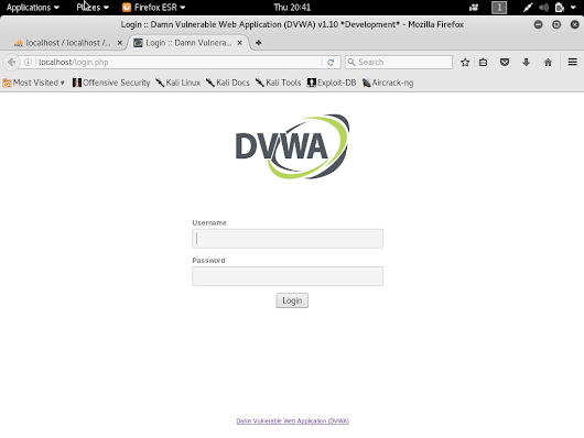 Setup your own Penetration Testing Environment (DVWA) on your Kali Linux