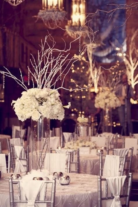 Winter Wedding Table Décor Ideas   Wedding Colours