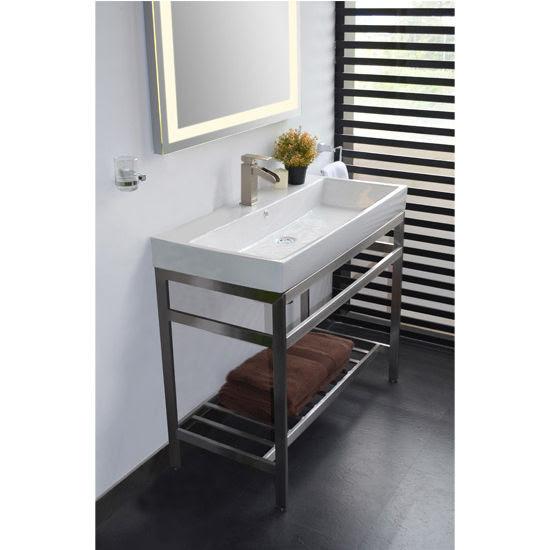 Bathroom Vanities - Stainless Steel South Beach 31
