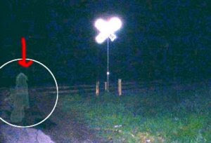 Hantu di Persimpangan Railroad Crossing Ghost in San Antonio, Texas