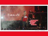 Tarkan's official site comes out in support