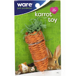 Ware 03251 Small Pets Karrot Toy