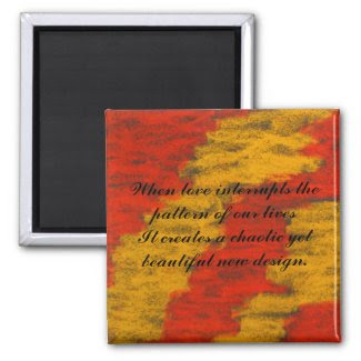 Interruption Love Quote Magnet_Romantic Gifts magnet