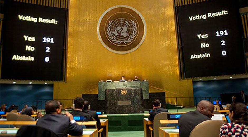 Minuto a Minuto: El Mundo dijo NO al bloqueo