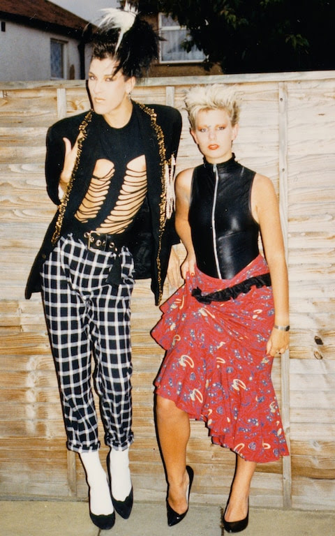 i sold my 1980s wardrobe – and rediscovered myself