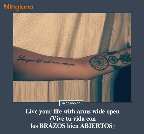 Frases De La Vida En Inglés Para Tatuajes