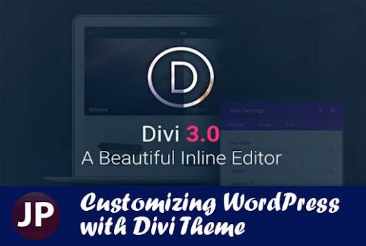 I will install and customize your website with Divi theme