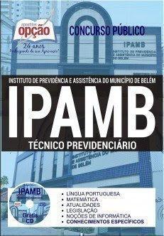 Apostila Concurso IPAMB PA TÉCNICO PREVIDENCIÁRIO