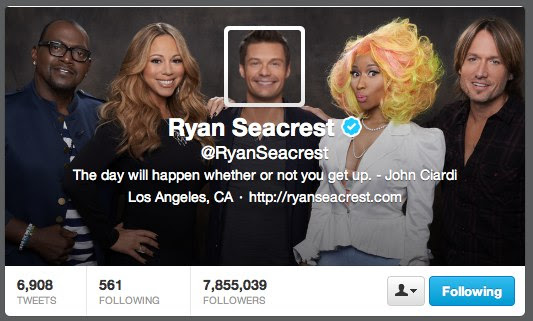 Ryan Seacrest (RyanSeacrest) on Twitter