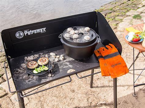 petromax dutch oven kooktafel fe  lumberjack outdoor