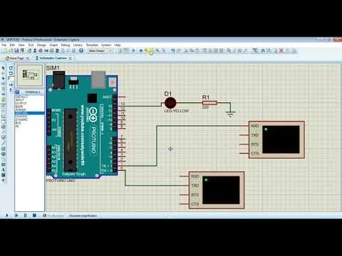 RFID Simulation in Proteus with Arduino
