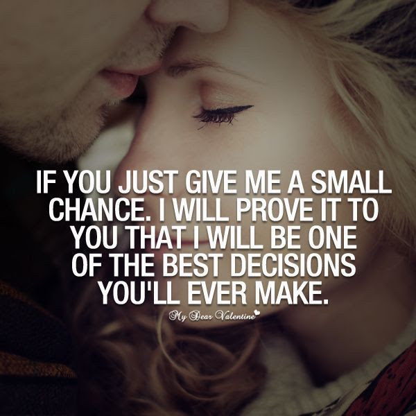 Give Me A Small Chance Pictures Photos And Images For Facebook