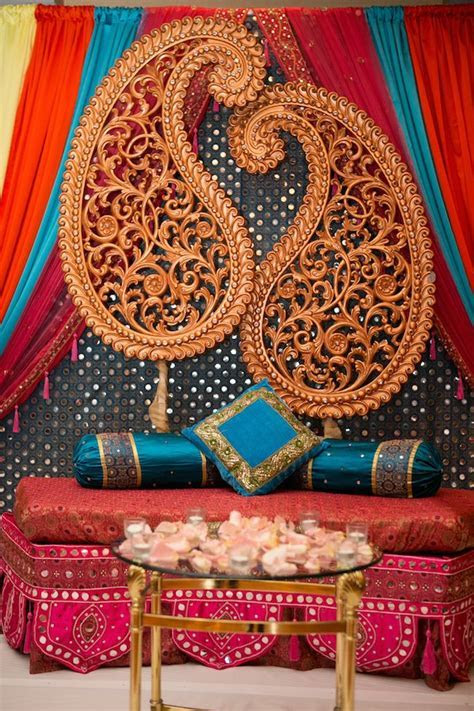 7a indian wedding decor staging   Ravi and Divya   Deco