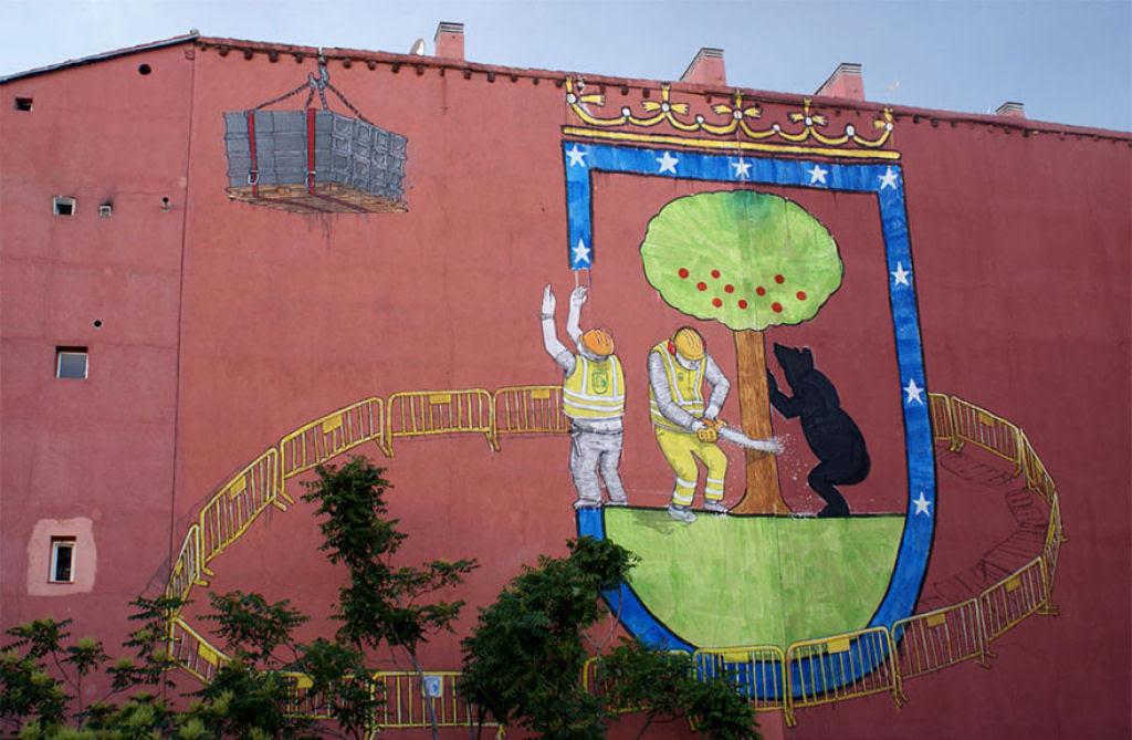24 eloquentes obras de arte urbana mostrando a desagradável verdade 19