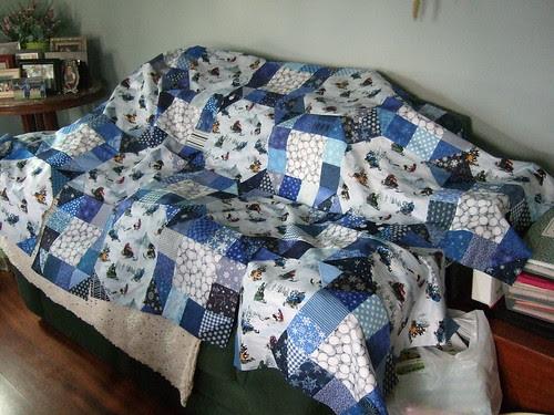 Dad's quilt