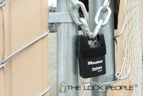 What is a Master Lock® Shrouded Padlock?