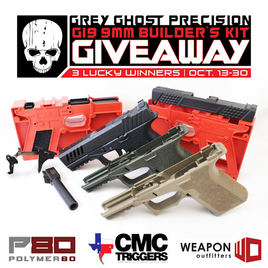 Grey Ghost Precision G19 Builder's Kit Giveaway!