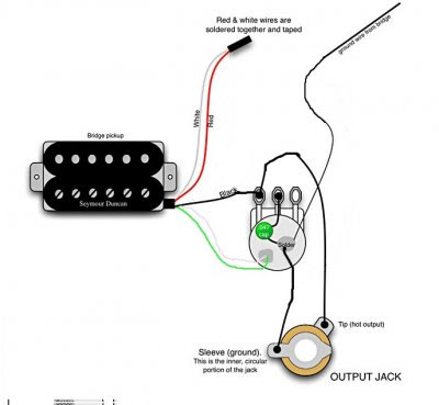 Music Instrument: Guitar Wiring Diagrams 1 Pickup 1 Volume 1 Tone | Guitar Wiring Diagrams 1 Pickup No Volume |  | Music Instrument