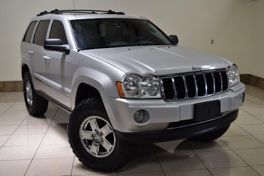 Used 2005 Jeep Grand Cherokee Limited 4WD for Sale in Houston TX 77063 Roadsters Auto