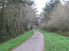 Hammond Trail walkers