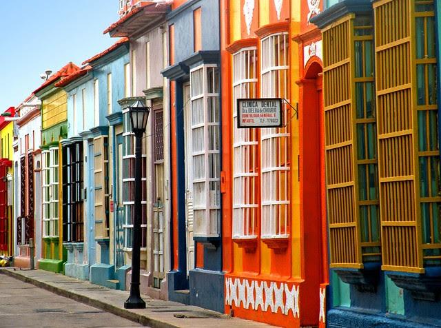 casitas de colores